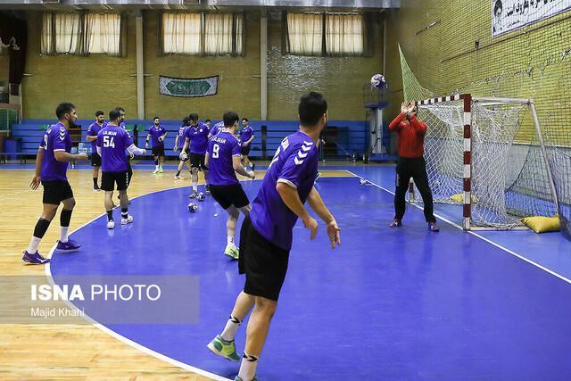 انتخاب دروازه بان هندبال ایران به عنوان بهترین بازیکن مقابل کویت