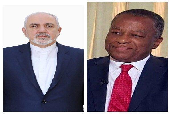 گفتگوی تلفنی ظریف با وزیر خارجه نیجریه