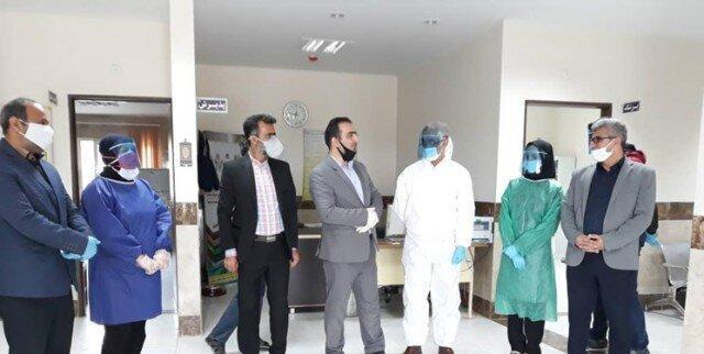 راه اندازی پویش پشتیبانی از کادر درمانی در کلیجانرستاق ساری