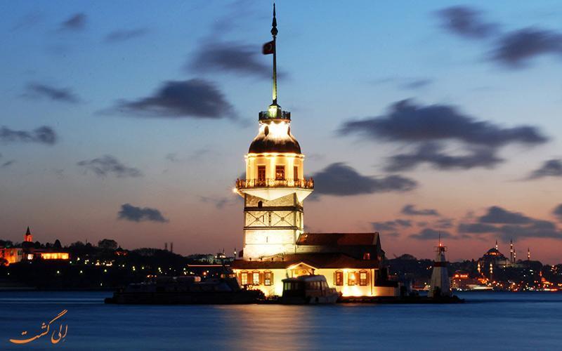 افسانه ناکامی ها در برج دختر استانبول
