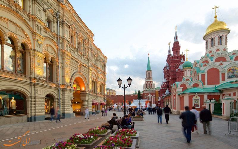 راهنمای انتخاب بهترین هتل های نزدیک میدان سرخ مسکو
