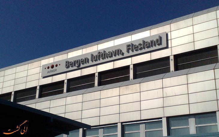 معرفی فرودگاه بین المللی فلیزلند، برگن نروژ