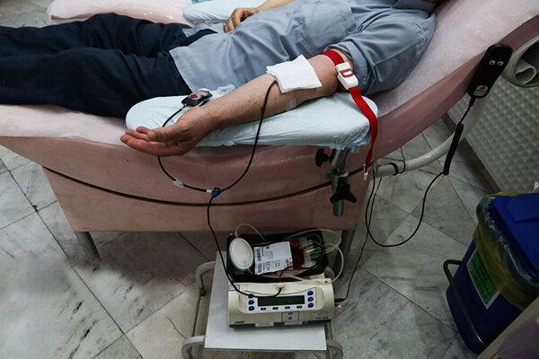 پایگاه های انتقال خون آماده خونگیری از روزه داران
