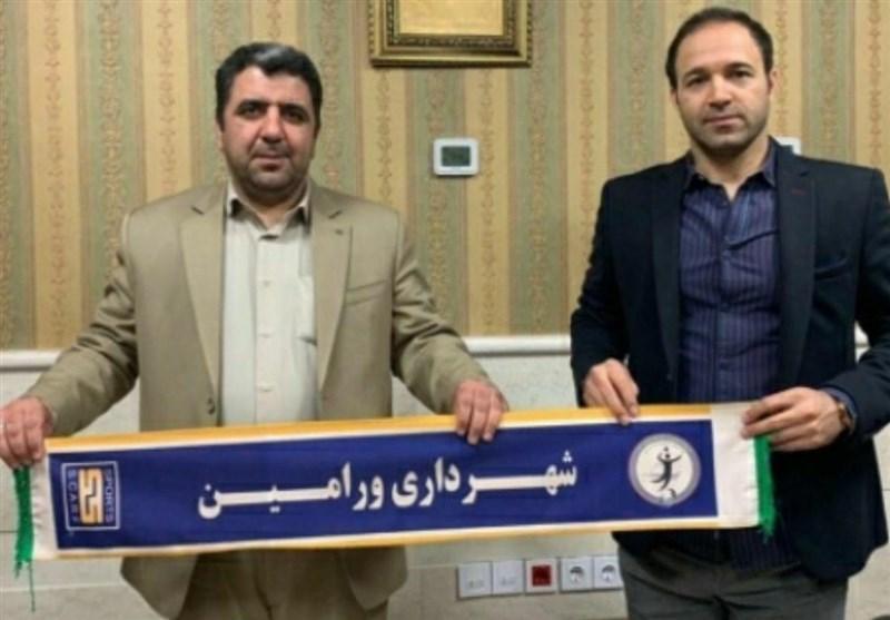تابش نژاد سرمربی تیم والیبال شهرداری ورامین شد