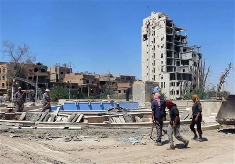 انفجار در مناطق تحت کنترل قسد در حومه دیرالزور