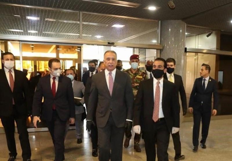 ورود نخست وزیر عراق به مجلس برای کسب رای اعتماد نمایندگان