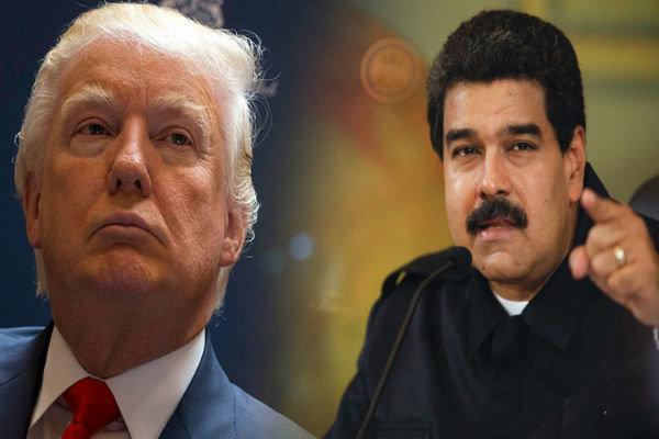 ترامپ: حاضرم با مادورو ملاقات کنم