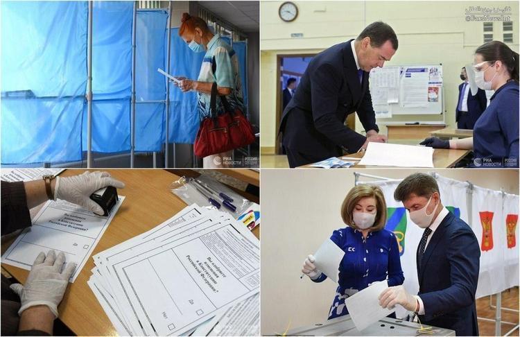 شروع همه پرسی قانون اساسی در روسیه