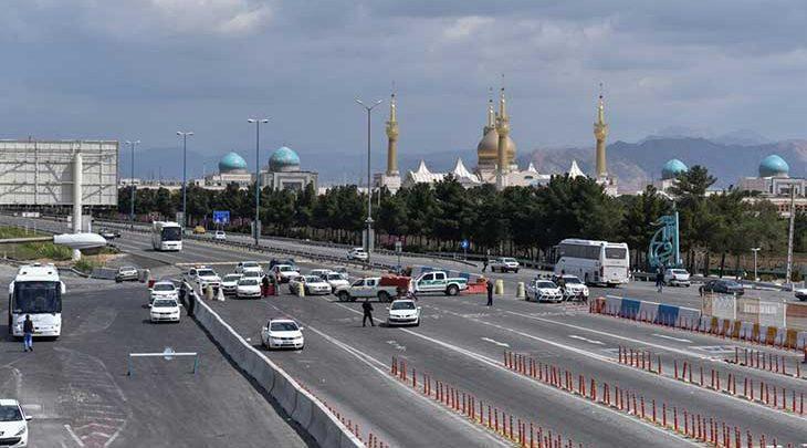 ورودی های تهران به شدت شلوغ است
