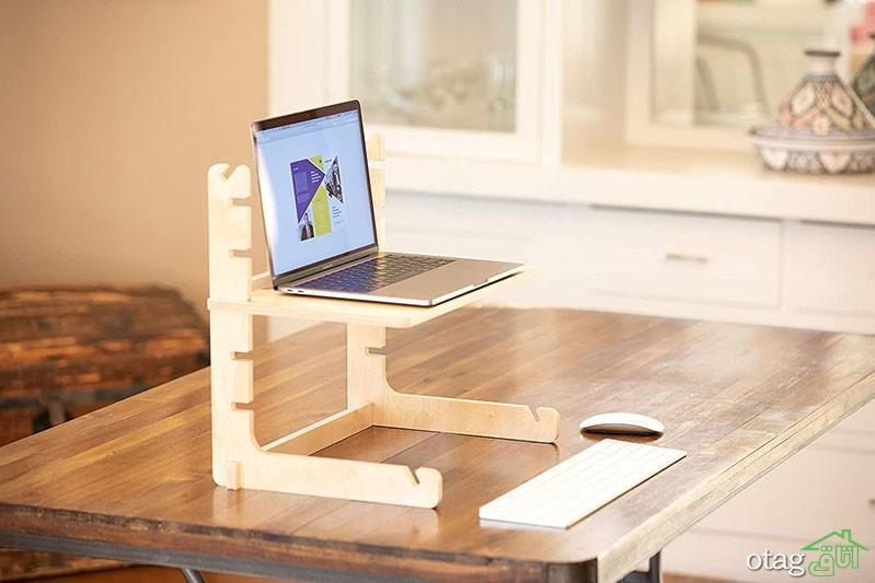 میز لپ تاپ ایستاده برای منزل، محیط اداره و کار