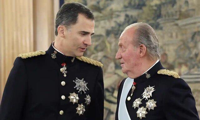 پادشاه اسپانیا به دلیل ارتباط اقتصادی با عربستان تبعید شد