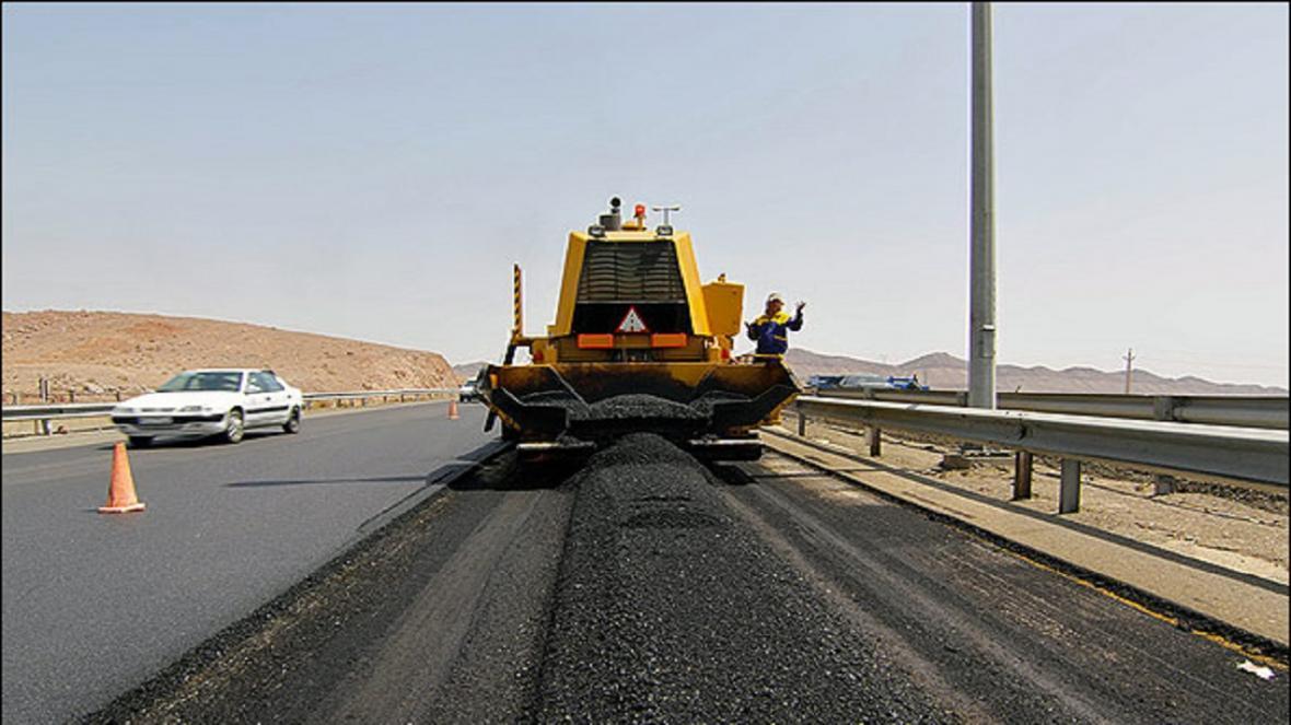 اصلاح روکش آسفالت جاده قدیم قم - تهران به زودی