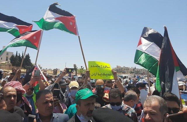 از سرگیری اعتراضات ضد دولتی در اردن پس از ماه ها توقف