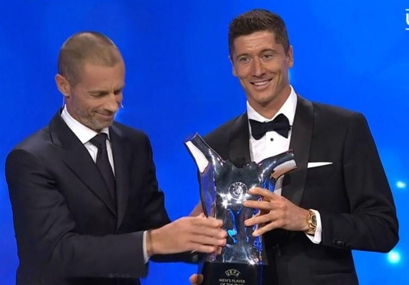 لواندوفسکی مرد سال فوتبال اروپا شد، فلیک بهترین مربی، نویر، کیمیش و دی بروینه در جمع برترین ها