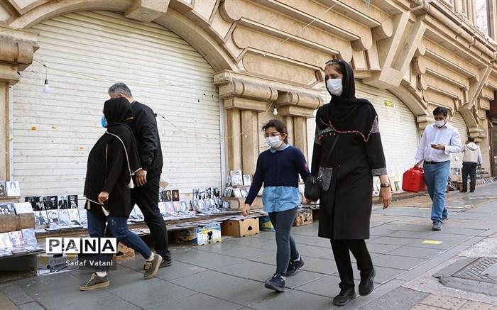 بیش از نیمی از مردم ایران از زدن ماسک خسته شده اند