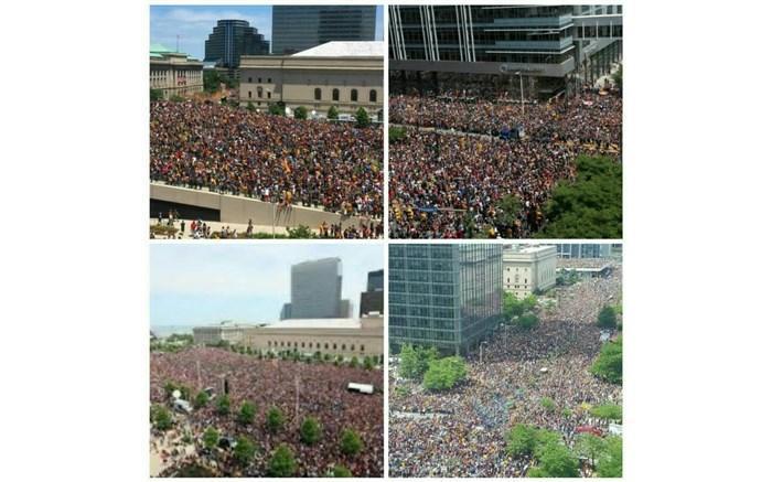 تجمعات حامیان ترامپ در واشنگتن