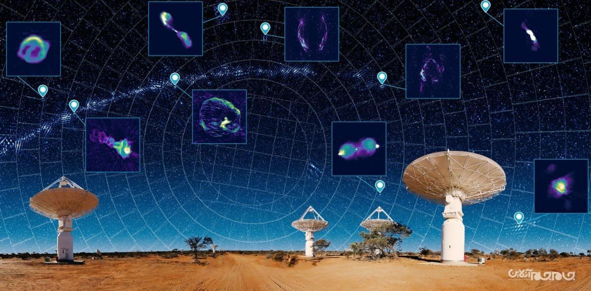 رونمایی از کامل&zwnjترین نقشه&zwnj&zwnjی آسمان که شامل یک&zwnjمیلیون کهکشان جدید می گردد