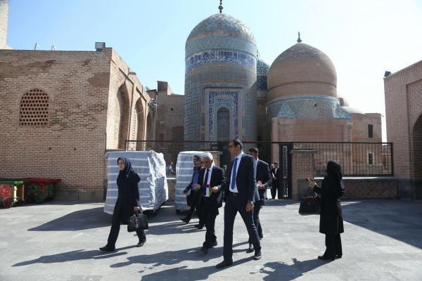 خبرنگاران ورود جهانگرد به استان اردبیل کاهش یافت