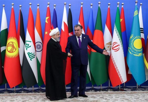 تبریک رئیس جمهور تاجیکستان به روحانی