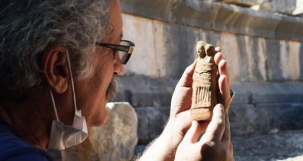 کشف مجموعه ای از مجسمه های تاریخی در ترکیه