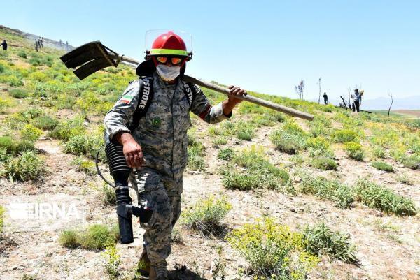خبرنگاران 28 اکیپ اطفا حریق در عرصه های منابع طبیعی جنوب کرمان فعال است