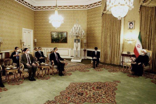 چین بر تمایل خود به توسعه روابط با ایران تأکید کرد