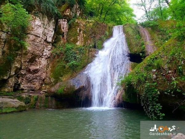 گشت و گذار در معروف ترین آبشار پلکانی گلستان
