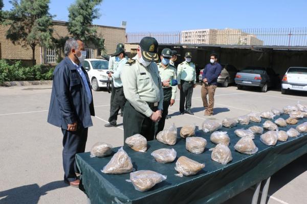 خبرنگاران 260 کیلوگرم هروئین در پردیس و پاکدشت کشف شد