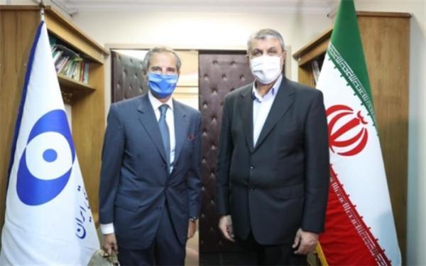 ملاقات و گفت وگوی رافائل گروسی با محمد اسلامی
