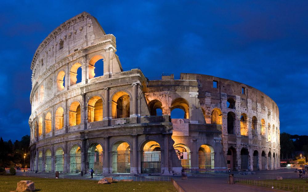 آشنایی با کولوسئوم آمفی تئاتر باستانی ایتالیا