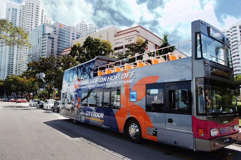 حمل و نقل عمومی در پنانگ مالزی