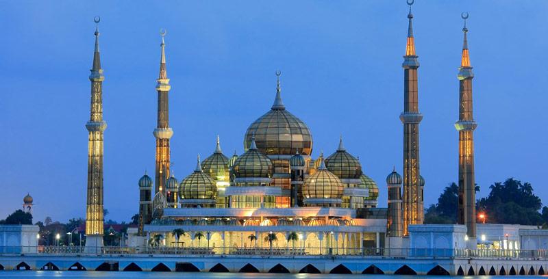 معرفی مسجد کریستالی مالزی