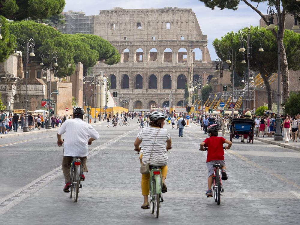 جاذبه های شهر رم مناسب برای کودکان