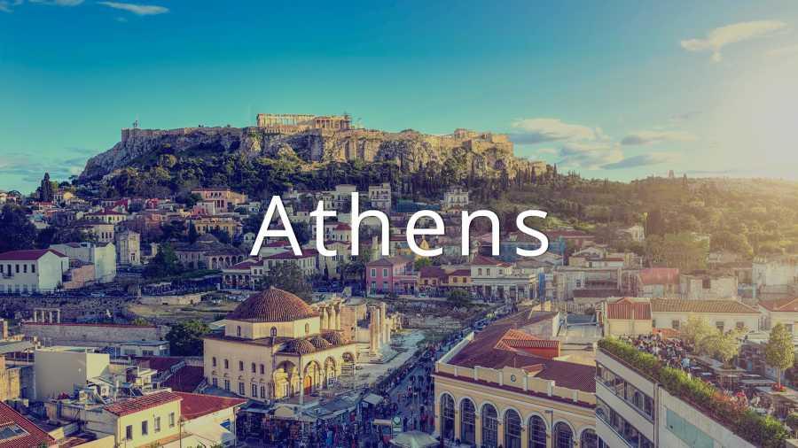 آتن شهر تاریخی و پر جاذبه در یونان